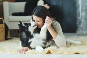 MM dog love