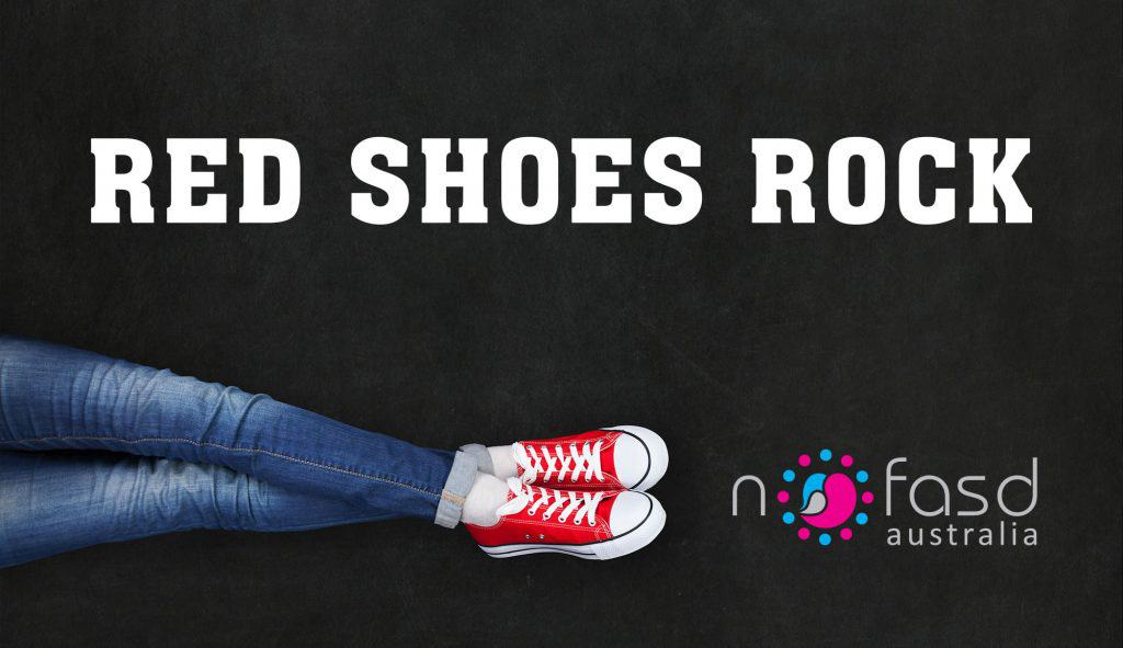 red shoes rock banner